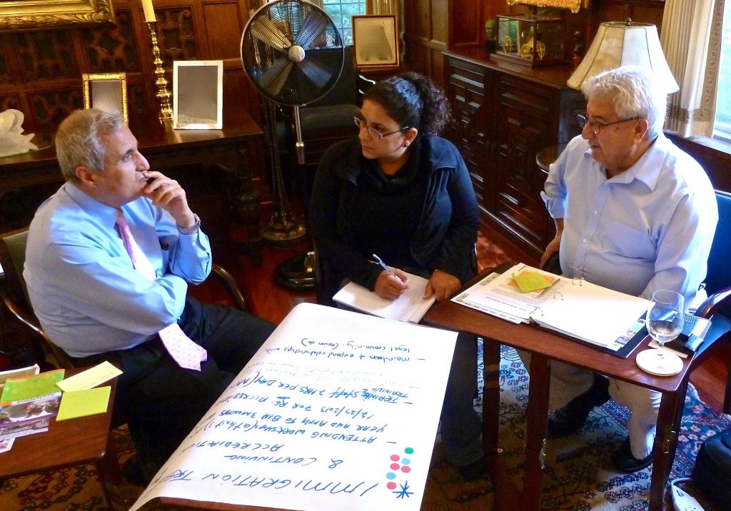 Non-profit board planning, collaboration